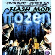 Flash mob frozen