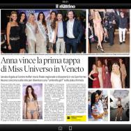 Miss Universo Italy 2013- I tappa Veneto