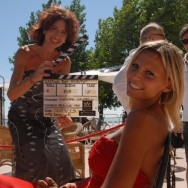 Presentazione al festival del cinema di Venezia del fashion film Casting the beauty