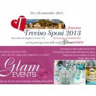 GLAM EVENTS  partecipa alla fiera TREVISO SPOSI sabato 28 e domenica 29 settembre