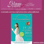 GLAM EVENTS partecipa alla fiera Sposissimevolmente a Stra 19,20 ottobre