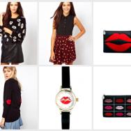 Labbra pop art su abiti e accessori: Tendenza Primavera/Estate 2014!