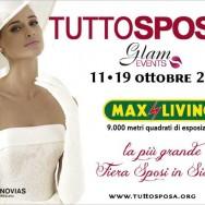 Glam Events partecipa a TUTTOSPOSA: il più grande evento fieristico dedicato al mondo delle nozze.