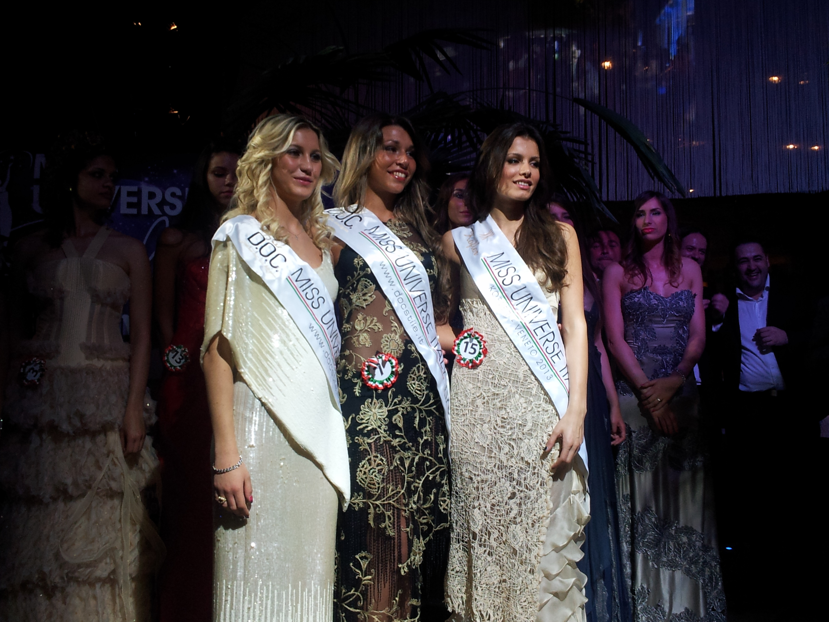tre finaliste