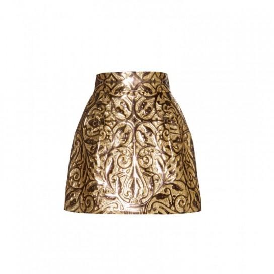 gonna oro Dolce & Gabbana