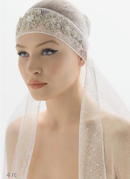 Velo da sposa a bandana