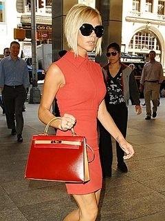 Victoria Beckham e la sua Kelly Hermès