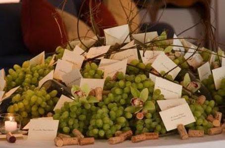 tableau con uva