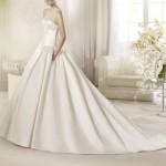 abito sposa in mikado 6 glam events