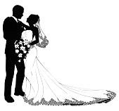 Un matrimonio in bianco…e nero