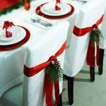sedie-e-tavoli in tema natalizio